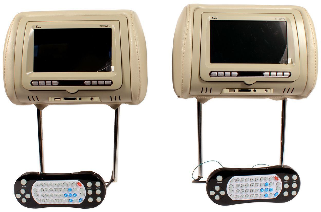 Car Video Headrest Monitors eBay