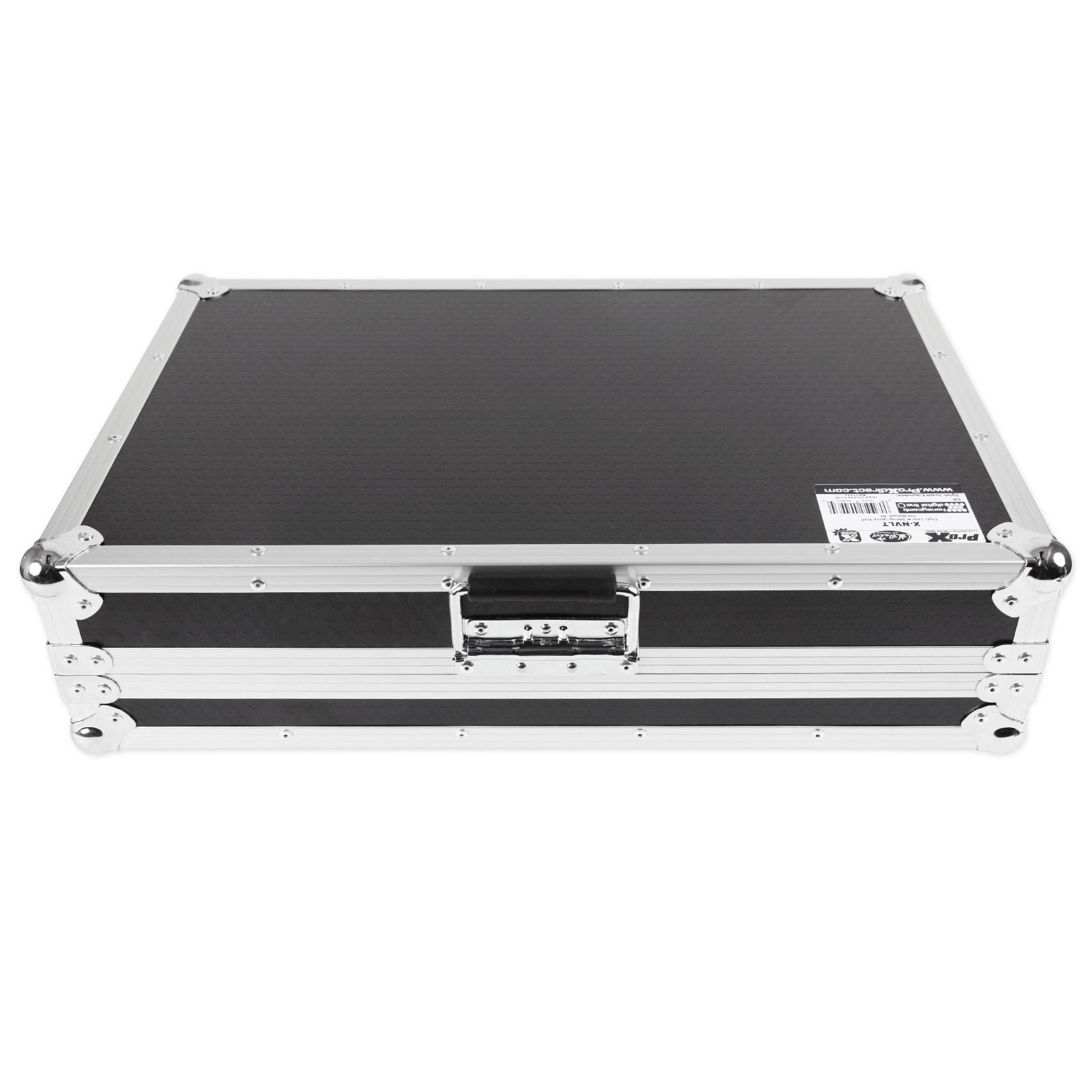 ProX X-NVLT Flight Case For Numark NV Controller W//Gliding Laptop Shelf