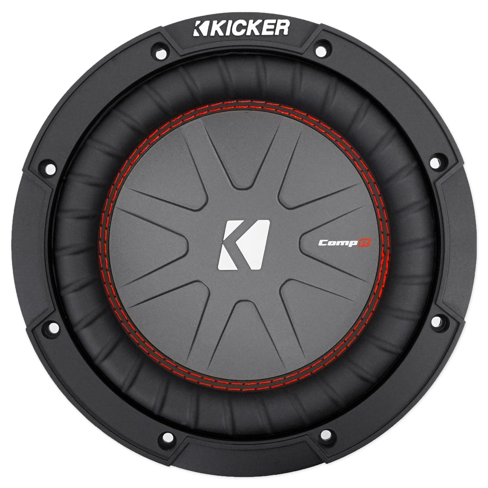 2  Kicker 43cwr82 Compr8 8 U0026quot  1200w Dvc 2