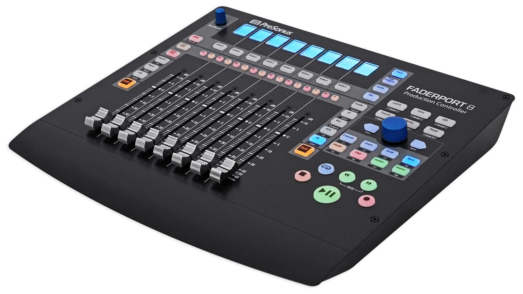 PRESONUS FADERPORT 8 USB 8-Channel Mix Production DAW Controller Mac/PC  713803236766 | eBay