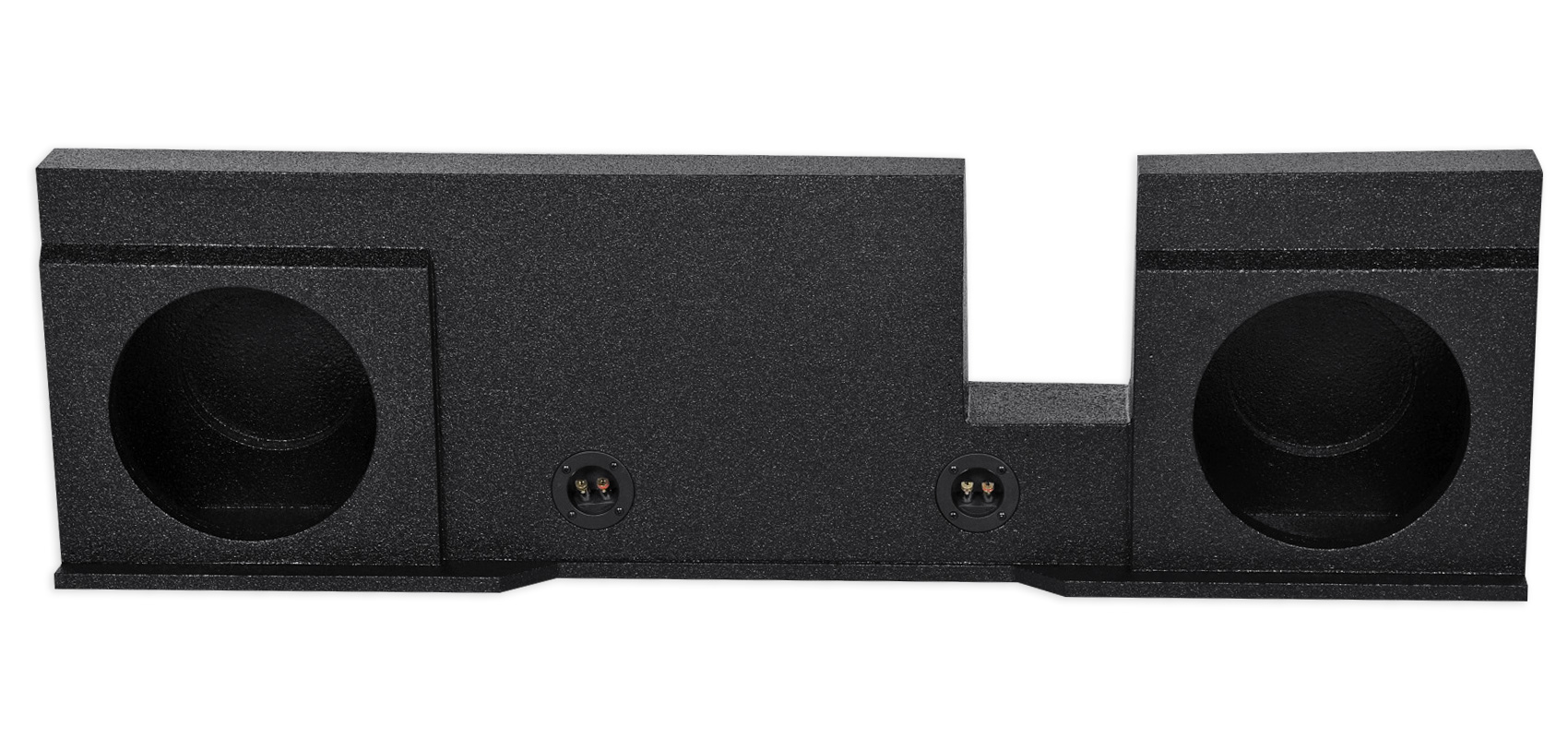 """Dual 12/"""" Sealed Subwoofer Sub Box Enclosure For 04-08 Ford F150 Xcab SuperCrew"""