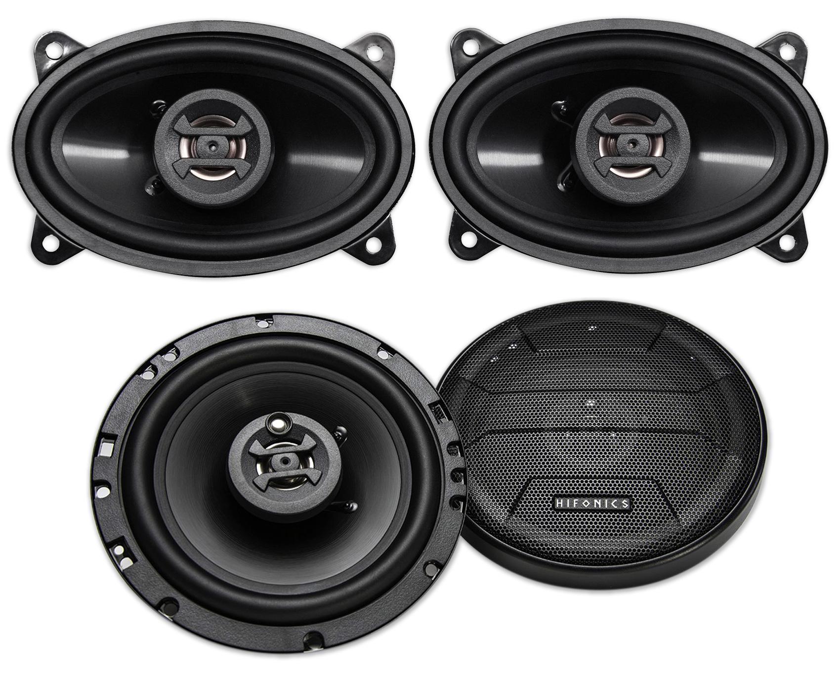 "AUTOTEK ATS653 6.5/"" Inch 1200 Watt 3-Way Full-Range Car Stereo Speakers NEW 4"