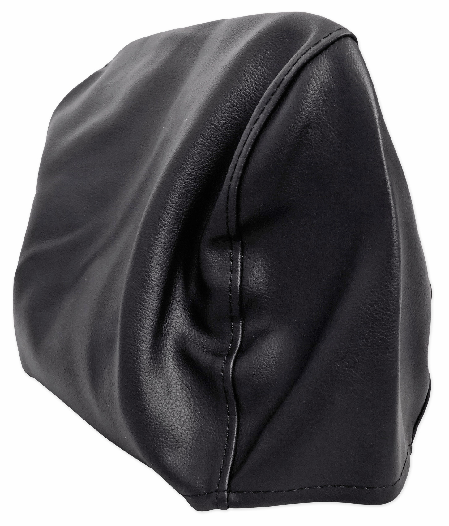 """Pair Grey 9/"""" Anti-Theft Faux Leather Headrest Monitor Cover"""