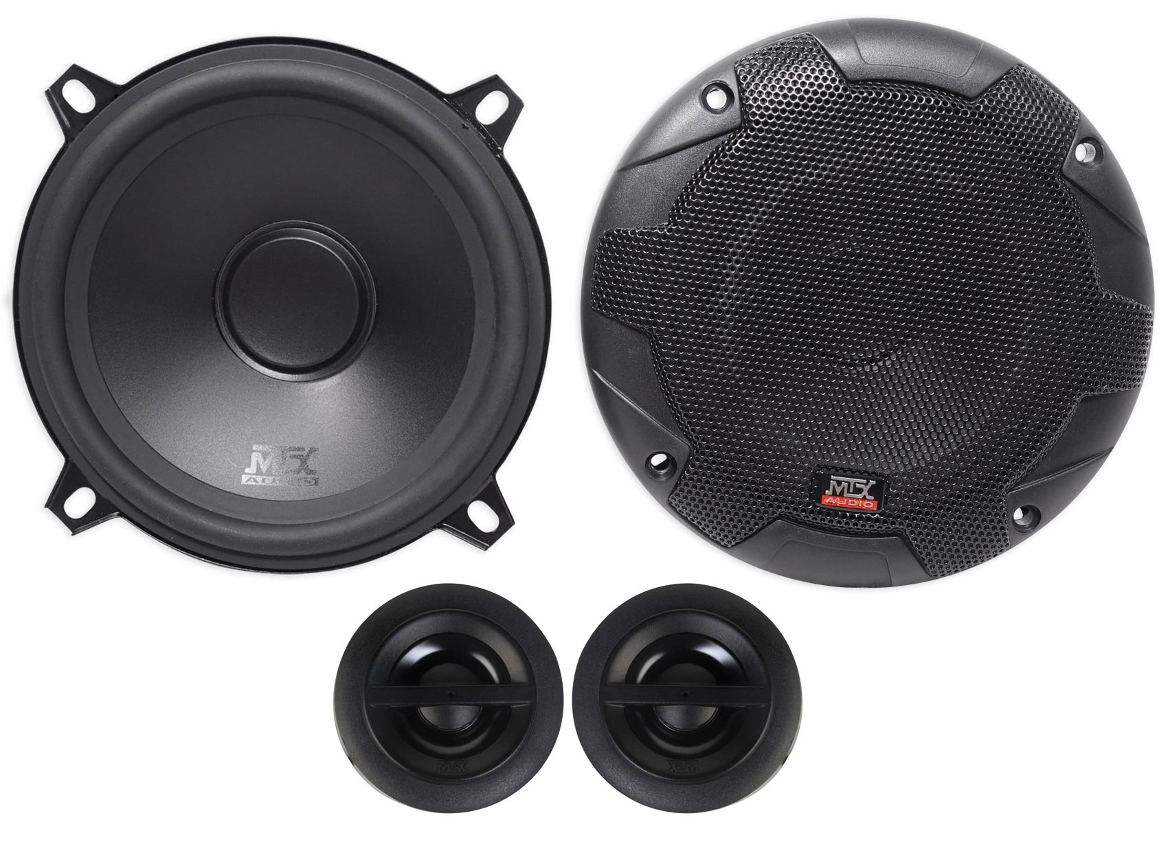 """Pair 5.25/"""" inch 5 1//4/"""" Car Audio Stereo 3-Way Sound Replacement Speakers PLG5.3"""