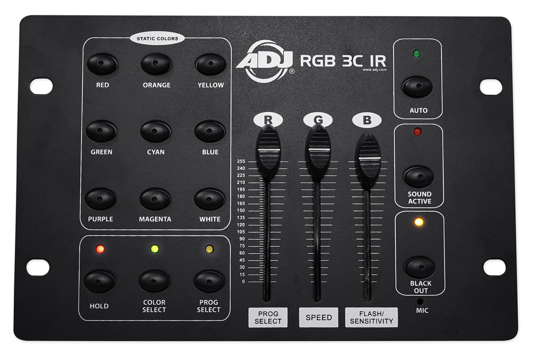 RGB3C IR ADJ Products Stage Lighting Controller