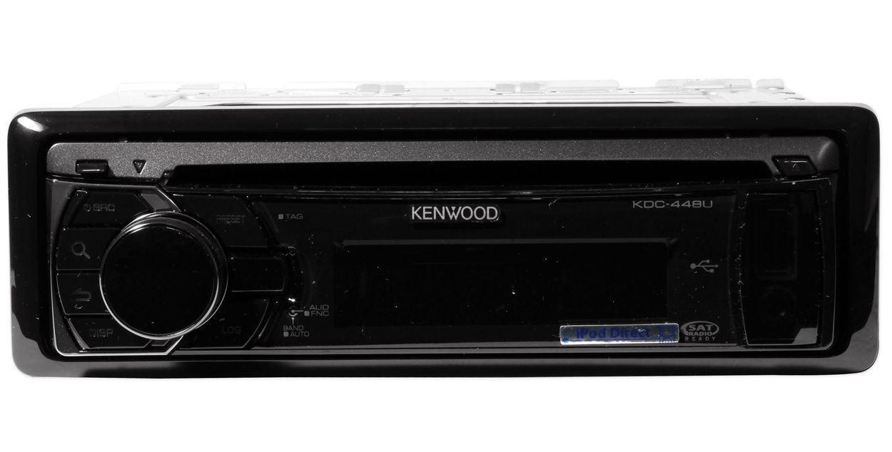 Details about Kenwood KDC-448U In Dash Car CD/USB Receiver w/ Multicolor on