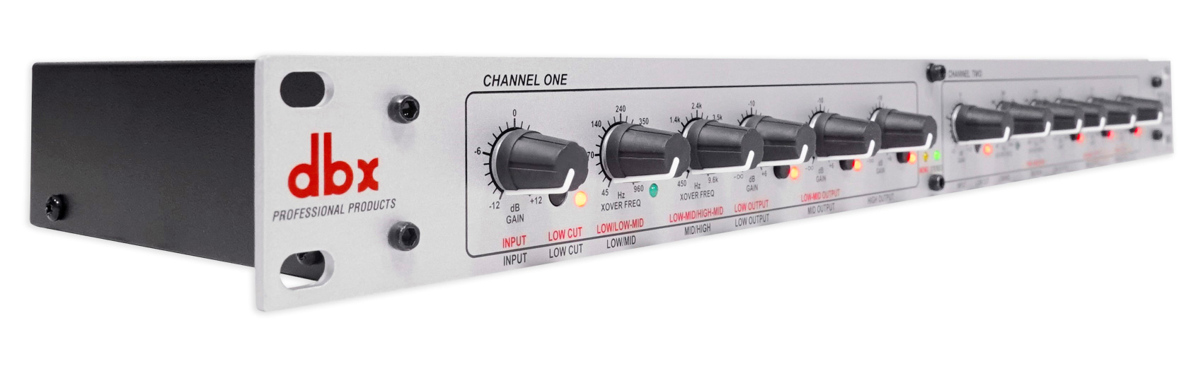DBX 234S Stereo 2//3 Way//Mono 4-Way Professional Crossover Rack Mount 2 Channel