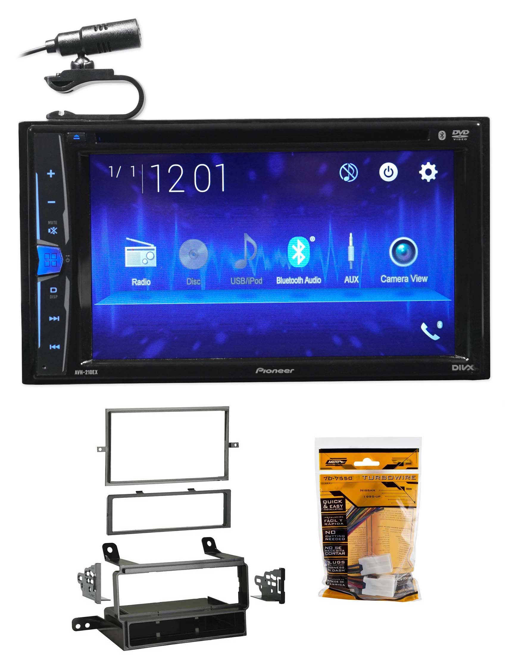 Pioneer Dvd Cd Bluetooth Receiver Iphone Android Usb For 05 07 Ty8100 Toyota Factory Radio Wiring Harness Adapter Metra 701761 Click Thumbnails To Enlarge