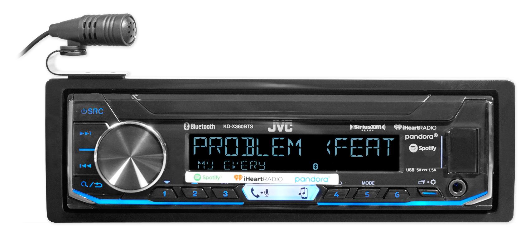 JVC Radio SiriusXM Bluetooth Dash Kit Harness For 03-06 Suzuki Grand Vitara XL7