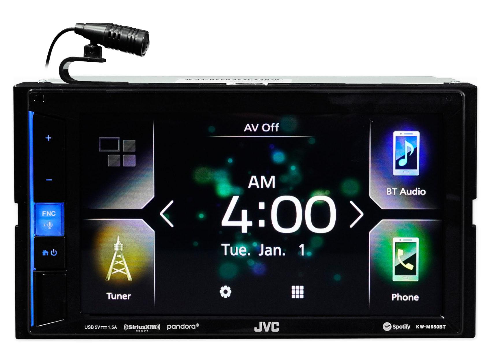 "Parking Line FREE HD BACKUP CAMERA JVC KW-V230BT 6.2/"" W//Bluetooth 6CH RCA"