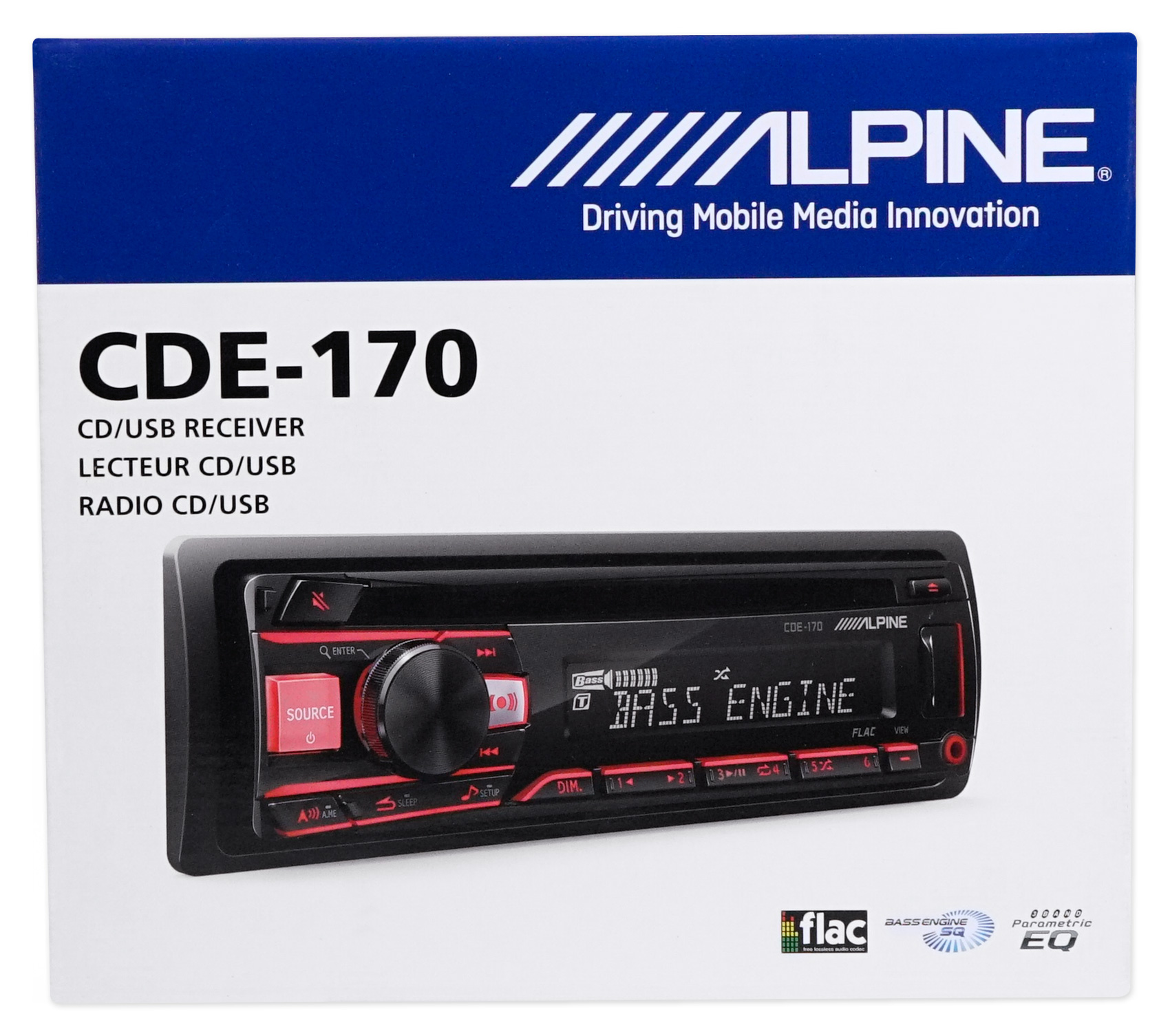 ALPINE CD Receiver Stereo Android/MP3/WMA/USB/AUX For 1997
