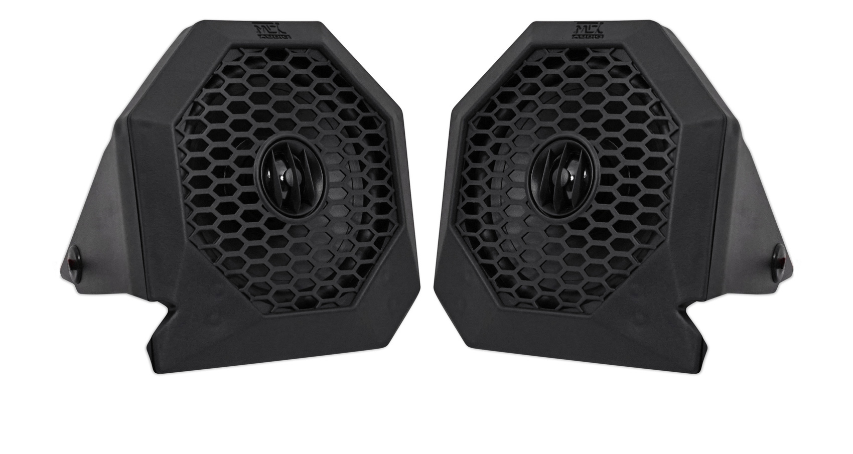 Memphis Audio Bluetooth Controller+Dash Speakers+2-Ch Amplifier For Polaris RZR