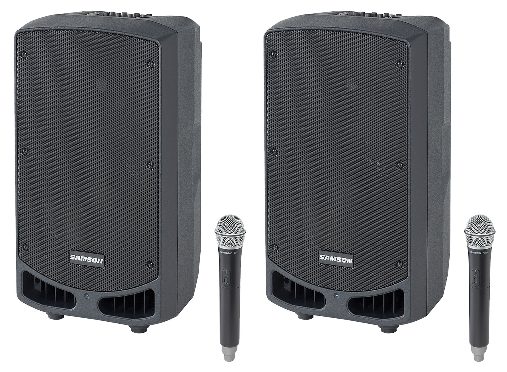 Denon Bluetooth Portable Church Speaker Sound System w// Mic for Minister Sermon