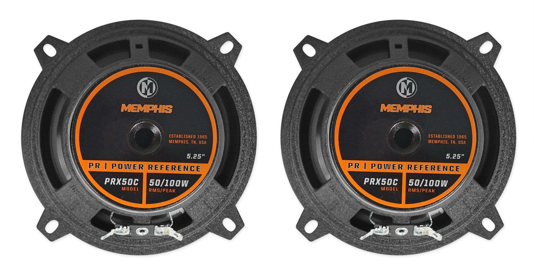 Pair Memphis Audio Prx50c 5 25 U0026quot  Component Speakers W