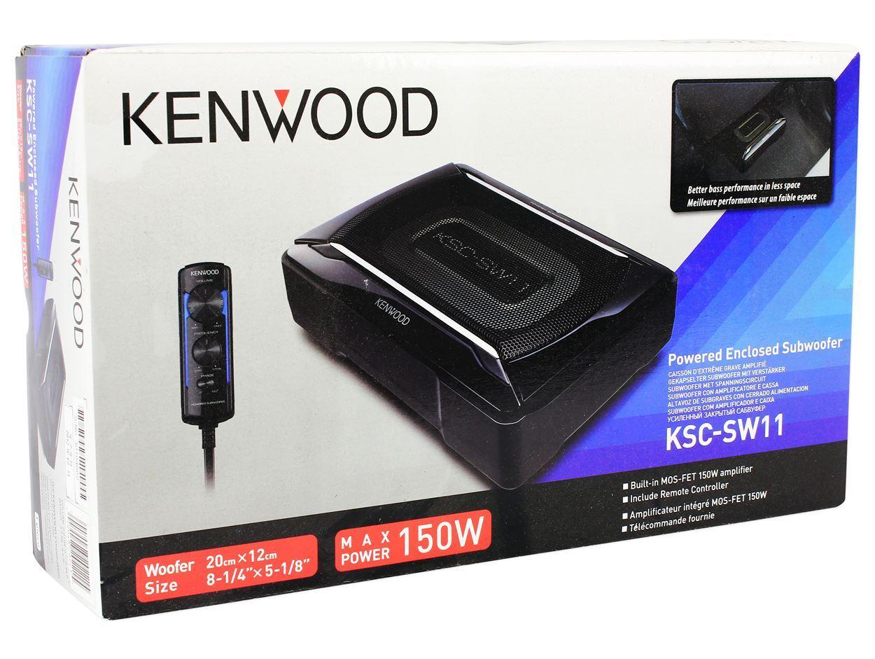 Kenwood Ksc Slim Powered Subwoofer W